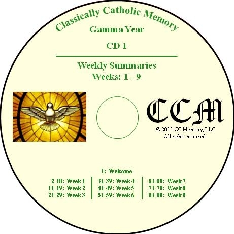 CCM Gamma Year Audio CD